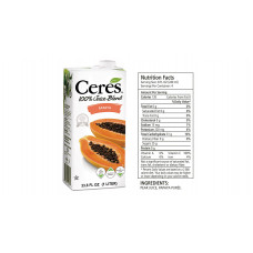 Ceres 100% Juice, Papaya - 33.8 Ounces