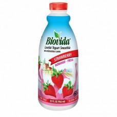Biovida Iogurte De Morango 946 Ml