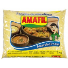 Amafil Farinha De Mandioca OURO 1kg