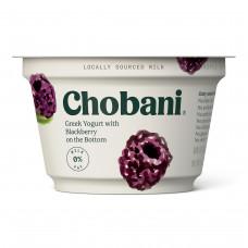 Chobani, Blackberry on the Bottom Low-Fat Greek Yogurt, 5.3oz