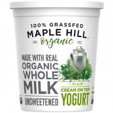 Maple Hill Creamery USDA Organic Plain Creamline Yogurt, 32 small