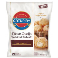 Pão de Queijo Recheado com Catupiry Congelado 390g