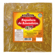 RAPADURA C/ AMENDOM DA COLONIA  400GR