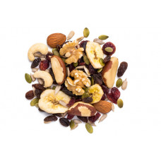 MIX NUT ROASTED NO SALT 8 OZ