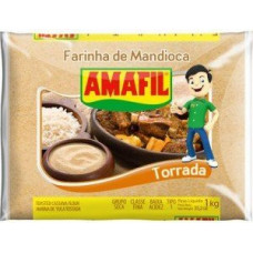 Farinha de Mandioca Torrada Amafil 1kg