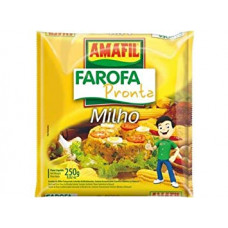 Amafil Farofa Milho 250g