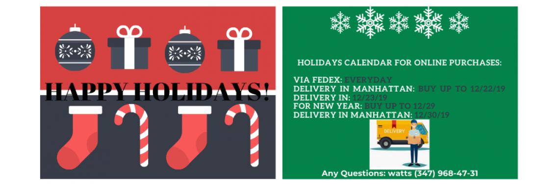 Holidays Message