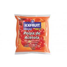 Polpa De Acerola E Mamao Icefruit - 4 Unidades 400g