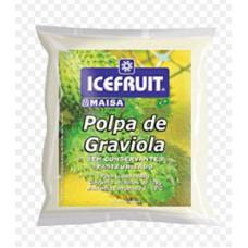 Polpa De Graviola Icefruit - 4 Unidades 400g