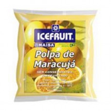 Polpa De Maracuja Icefruit - 4 Unidades 400g