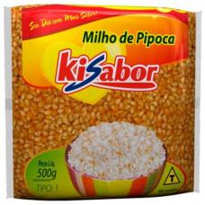 Milho De Pipoca Kisabor 500gr