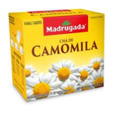 Cha De Camomila Madrugada 10g