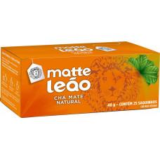 Matte Leao Cha Matte Natural Tostado C/ 25 Saquinhos 40 G