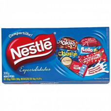 Nestle Bombom Sortidos Especialidades 300 Gr Caixa Azul Ou Vermelha