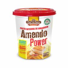 Pasta de amendoim integral amendo power Da colonia 500 g