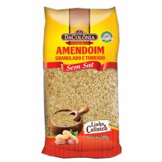 Amendoim Granulado Sem Sal DaColonia 500g