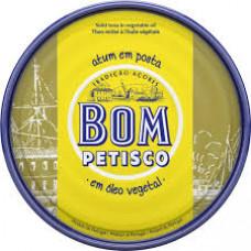 Atum em Posta Portugues Bom Petisco em oleo vegetal 200g