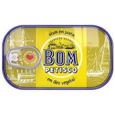 Atum Solido em oleo vegetal Bom Petisco 120g