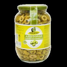 Azeitonas verdes em rodelas Macarico 850 g