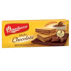 Biscoito Bauducco Wafer Triple  Chocolate 5.82 Oz