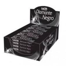 Chocolate Barra Diamante Negro Lacta 20g Caixa c/ 20 unid