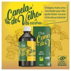Cha canela de velho com sucupira natural Erva Nativa 500 ml