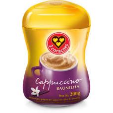 Cappuccino Baunilha 3 coracoes 200g