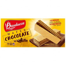 Wafer Sabor Chocolate Bauducco 165g