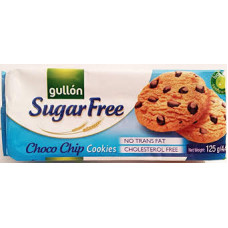 Biscoito Chocolate Chip Cookies Sugar Free Gullon 125g