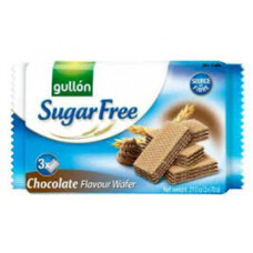 Biscoito Wafer Chocolate Sugar Free Gullon 210g