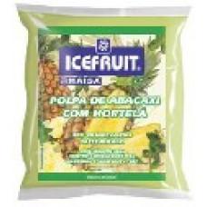 Polpa De Abacaxi + hortela Icefruit - 4 Unidades 400g