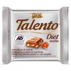 Chocolate Talento Diet Avelas  Garoto 25 Gr