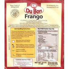 Linguica de Frango Grossa Congelada Du Bon 1l