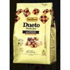 Biscoito Dueto Chocolate Preto e Branco Vale D'Ouro 200g