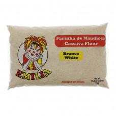 Farinha De Mandioca Branca Emilia 1kg