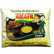 Farinha De Mandioca Ouro Amafil 1kg
