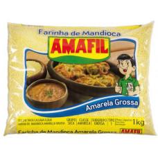 Farinha De Mandioca  Amarela grossa Amafil 1kg