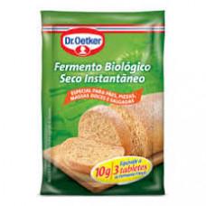 Fermento Biologico Seco Instantaneo Dr. Oetker 2 unid