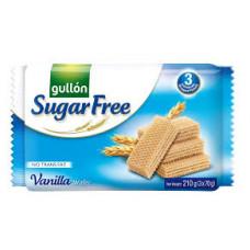 Biscoito Wafer Vanilla Sugar Free Gullon 210g