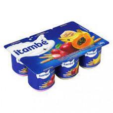 Iogurte de  Frutas e Cereal Itambe 6 unidades