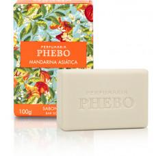 Sabonete Barra Mandarina Asiática Phebo 100g