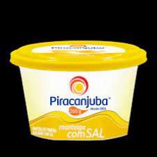 Manteiga Com Sal PIRACANJUBA 200 g