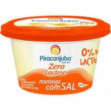 Manteiga Zero Lactose Com Sal PIRACANJUBA 200g