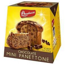 Mini Chocottone Bauducco 100g