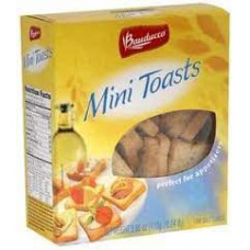 Mini Toast Bauducco 120g