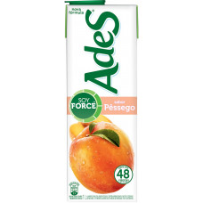 Ades Soja +suco De Pessego 1l