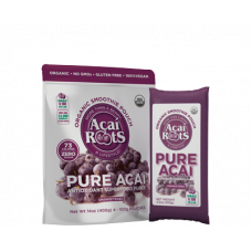 Acai - roots Pure Acai-4 Unidades 400g