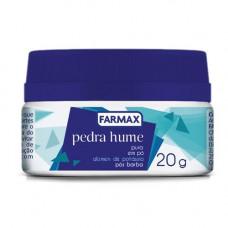 Pedra Hume em po Farmax 20 g
