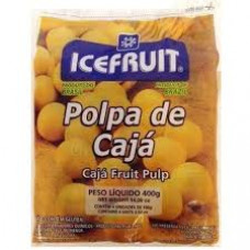 Polpa De Caja Icefruit - 4 Unidades 400g