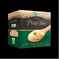 Arroz Organico e Integral Prato Fino 500g